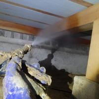 山陽小野田市須恵にてヤマトシロアリ駆除工事。羽蟻発見からの被害発覚。のサムネイル