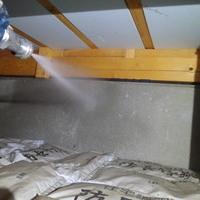 防府市台道にてご自宅の白蟻予防工事。羽蟻が飛んできた事から検査。のサムネイル
