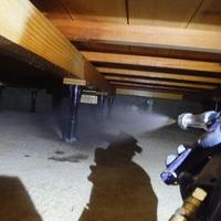 防府市惣社町にて白蟻予防工事。ご自宅ご購入から欠かさず定期定期に。のサムネイル