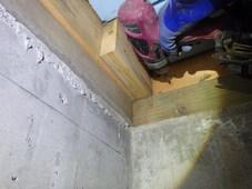 山口市平井にて、アパートのヤマトシロアリ駆除工事。