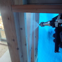山口市吉敷赤田にて新築予防工事。このお家に住む方の幸せに少しでもお役に立てるように。のサムネイル