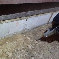 山口市秋穂東にて倉庫のイエシロアリ駆除工事。のサムネイル