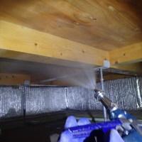 防府市多々良にて、新築から初めての白蟻予防工事。お客様からのご紹介でのご縁です。のサムネイル