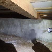 宇部市草江にて、保証期間終了後に再度白蟻予防工事。のサムネイル