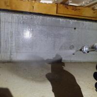 防府市三田尻にて、いつもお世話になっている工務店社長様宅の白蟻予防工事。のサムネイル