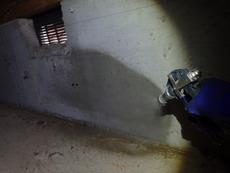 山口市秋穂東にて、20年以上に渡り定期的に白蟻予防施工させていただいています。