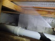 山口市徳地島地にて白蟻予防工事。大切なお住まいをこのまま維持する為に。