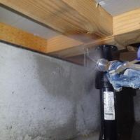 宇部市西岐波にて新築後最初の白蟻予防工事のご依頼。ホームページからお問い合わせ。のサムネイル