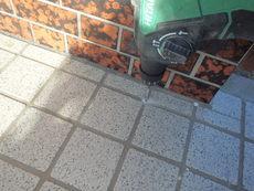 防府市勝間にて白蟻予防工事。定期的に永年予防工事をさせていただいております。
