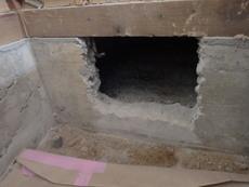 防府市戎町にて白蟻予防工事。借家の次の入居者様が入られる前に。