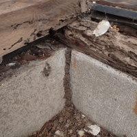 防府市向島にてヤマトシロアリ駆除工事。改装中に被害発見。のサムネイル