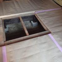 防府市新田にて定期的に白蟻予防工事。のサムネイル