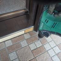 防府市南松崎町にて、定期的に白蟻予防工事。新築時より39年ずっと。のサムネイル