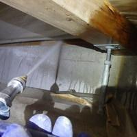 山口市徳地にて白蟻予防工事。新規のお問い合わせからのご契約ありがとうございます。のサムネイル