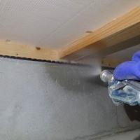山口市宮野上にて建替え住宅の白蟻予防工事。のサムネイル