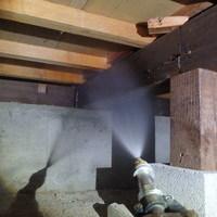 防府市桑南にて、大切なご実家の白蟻予防工事。のサムネイル