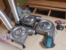 防府市台道にて床下換気扇設置工事。床が沈むのでまずは検査をしてみました。