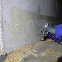防府市田島にてご新規さま宅、白蟻予防工事。のサムネイル